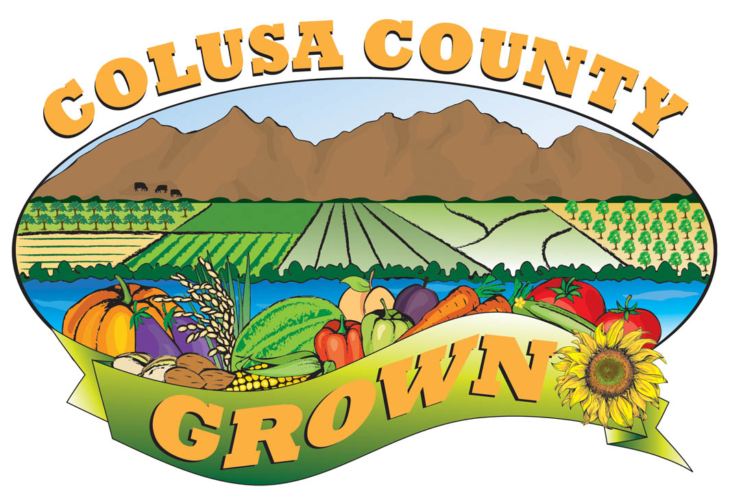 Colusa County Grown Logo